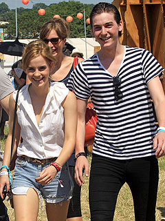 Emma Watson and boyfriend