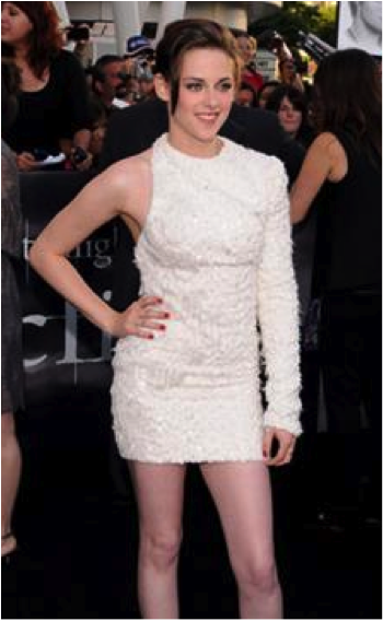 "Kristen Stewart at the post-premiere of the new Twilight movie ""Eclipse"""