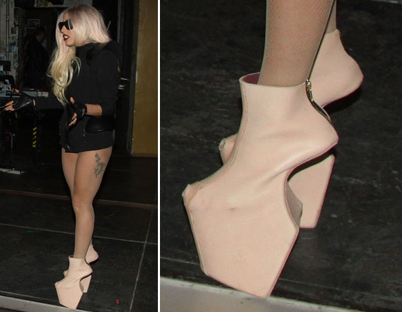 Lady Gaga's Spectacular Shoes
