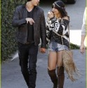 Vanessa Hudgens and Austin Butler Grab Lunch in Burbank