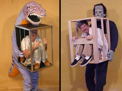 Man in a Cage Costume.  sc 1 st  Mary Girls Games blog & Creative Halloween Costumes! -